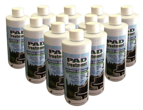 Dampp Chaser Piano Humidifier Pad Treatment 16 oz Bottle Value Pack - 12/pack