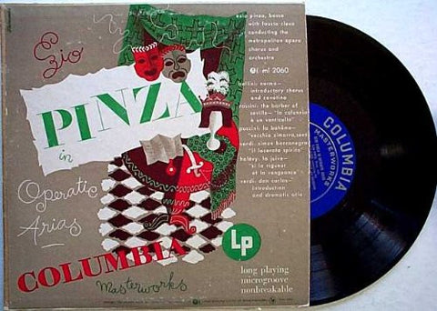 "ENZIO PINZA IN OPERATIC ARIAS. 10"". ML2060"
