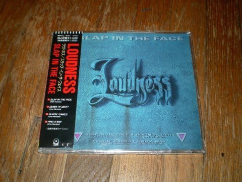 Slap In The Face CD-Single+OBI JAPAN 1991 by LOUDNESS (0100-01-01)
