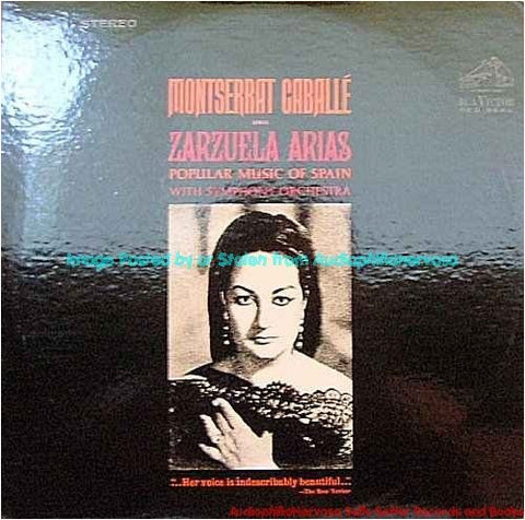 Montserrat Caballe Sings Zarzuela Arias (Popular Music Of Spain) With Symphony Orchestra