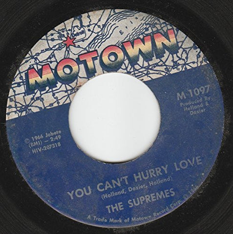 "45vinylrecord You Can't Hurry Love/Put Yourself In My Place (7""/45 rpm)"