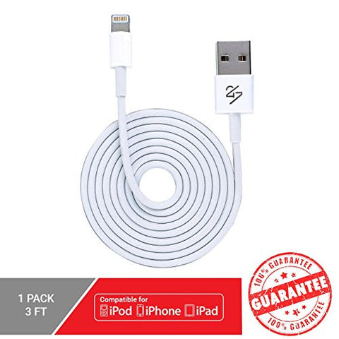 iPad Air / Mini - (3 Feet) USB Sync Cable Charger Cord [Certified Quality]