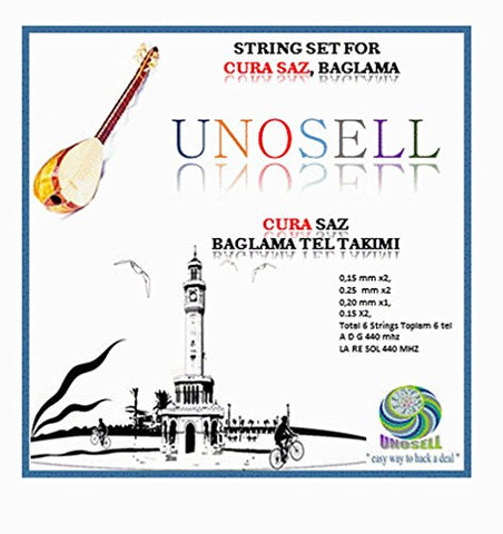 STRING SET FOR TURKISH STRING SMALL SIZE CURA SAZ