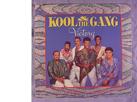 Rare Kool & the Gang Radio Station Promo Issue Translucent Green Vinyl 45 RPM & Picture Sleeve - Victory - Mercury Records 1986