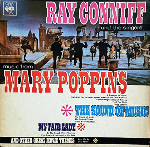 Ray Conniff: Music From Mary Poppins, The Sound Of Music, My Fair Lady And Other Great Movie Themes (Columbia Limited Edition Reissue) [Vinyl LP] [Stereo]