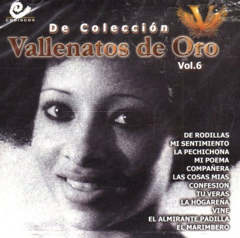 De Coleccion Vallenatos de Oro - Vol. 6