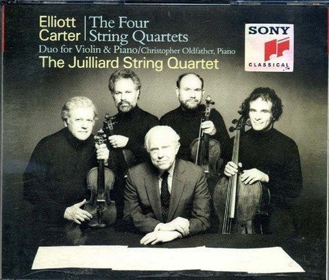 Carter: The Four String Quartets/ Duo for Violin & Piano