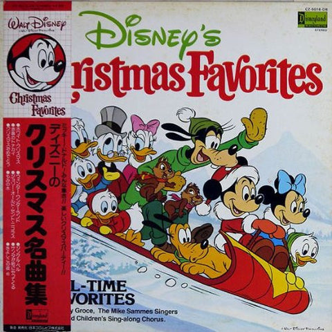 """Disney's Christmas Favorites"" - Japanese pressing with Obi strip"