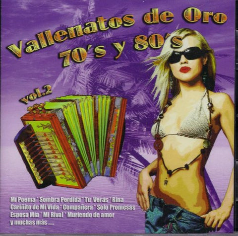 Vallenatos De Oro,70's Y 80's Vol.2