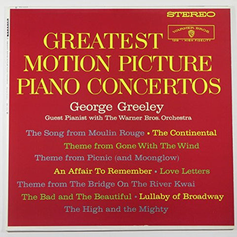 [LP Record] Greatest Motion Picture Piano Concertos - George Greeley