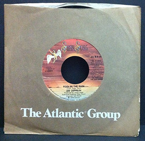 FOOL IN THE RAIN / HOT DOG (45 RPM SINGLE, 1979, STEREO)