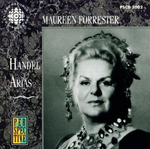 Maureen Forrester Sings Handel's Arias (2001) Audio CD