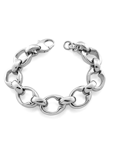mineraleir -Mother Jug chain bracelet - silver
