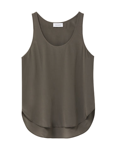 Perfect Silk Tank - Earth