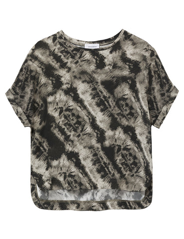Relaxed T-Shirt - Earth tie dye