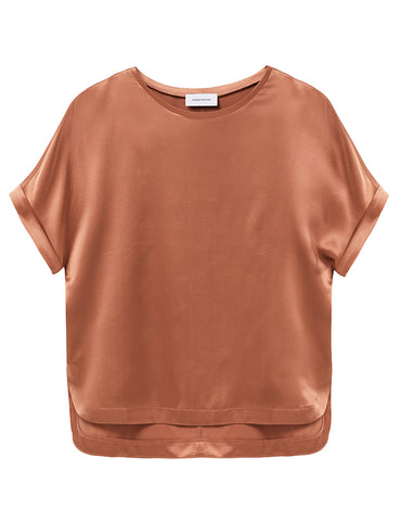 Relaxed T-Shirt - Terracotta