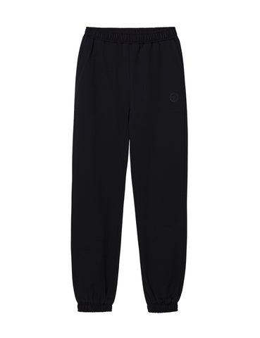 Organic Cotton Track Pant - Black
