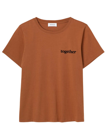 Together Tee- brown