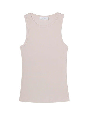 Organic cotton ribbed Tank- Ecru