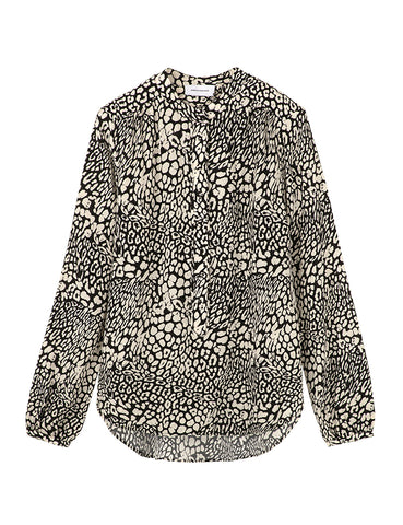 The Poet's Shirt - Leopard print