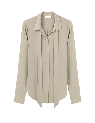 Perfect Silk Shirt - Pumice