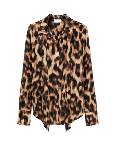 Perfect Silk Shirt - Leopard print