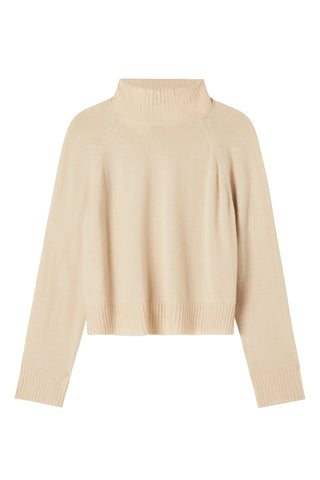 Hope Cashmere Knit - Cropped - Ecru