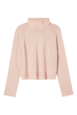 Hope Cashmere Knit - Cropped - Peony Pink