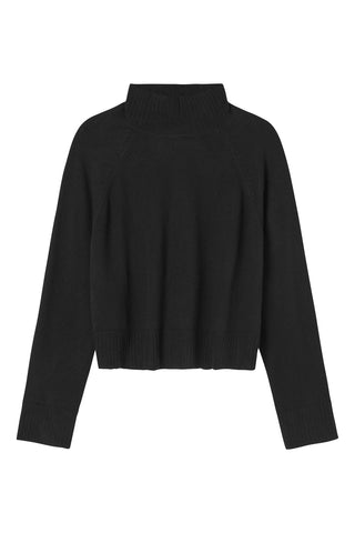 Hope Cashmere Knit - Cropped - Black