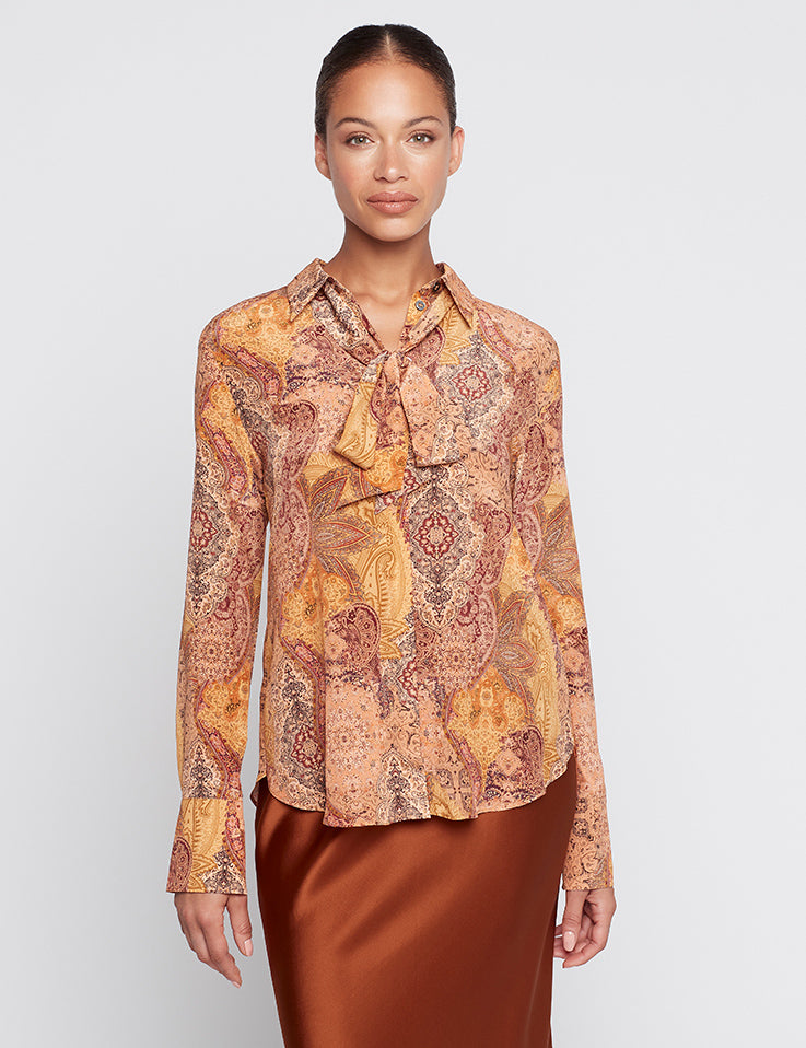 Perfect Silk Shirt - Persian Rug CDC
