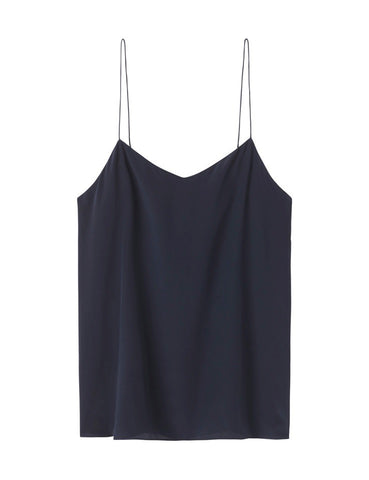 The Perfect Silk Camisole - navy
