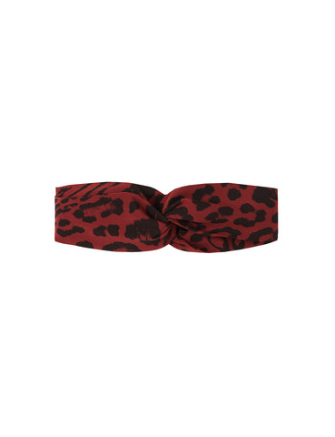 Silk Headband - true blood leopard