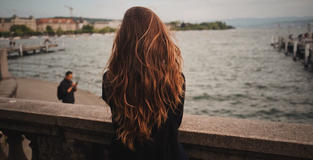 long beautiful hair