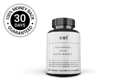 1x Cel Advanced Hair Supplement (60 Capsules) - 30 Day Subscription