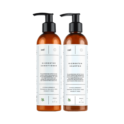 Hair Stimulation Shampoo and Conditioner Pack