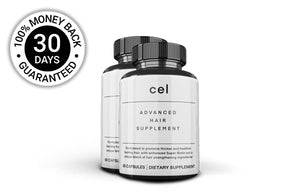 2x Cel Advanced Hair Supplement (60 Capsules) - 30 Day Subscription