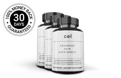 3x Cel Advanced Hair Supplement (60 Capsules)
