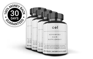 4x Cel Advanced Hair Supplement (60 Capsules) Upsell