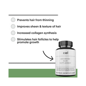 Cel Advanced Hair Supplement