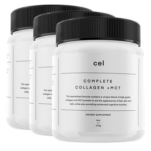 3 x Complete Collagen + MCT