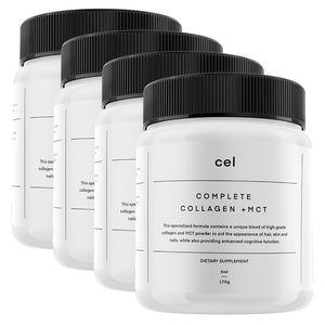 4 x Complete Collagen + MCT Upsell