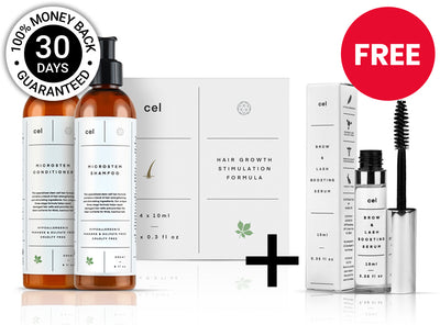 Hair Stimulation Pack + Hair Stimulation Formula Bundle + Free Gift