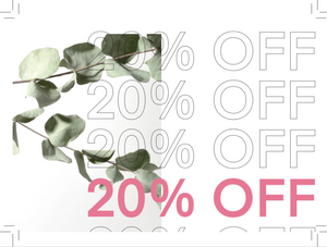 20% DISCOUNT COUPON (*NEW* OTP customers)
