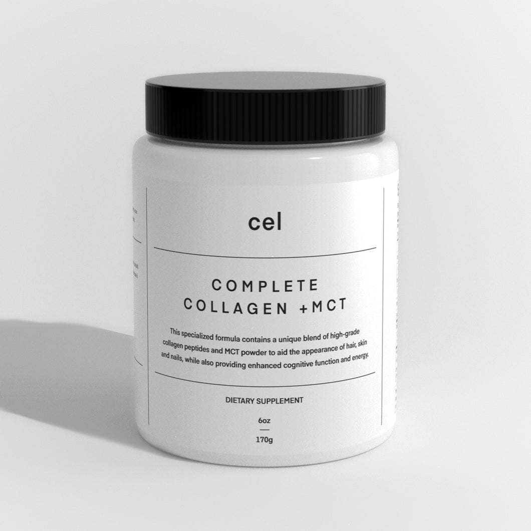 COMPLETE COLLAGEN POWDER WITH MCT