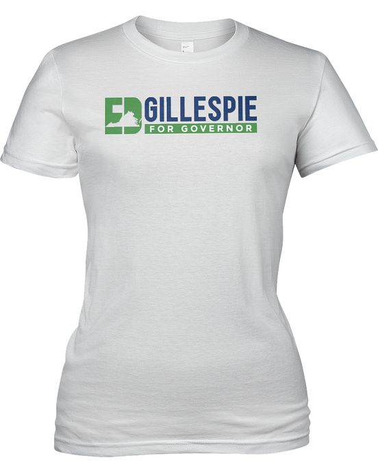 Ed Gillespie for Governor T-Shirt - White