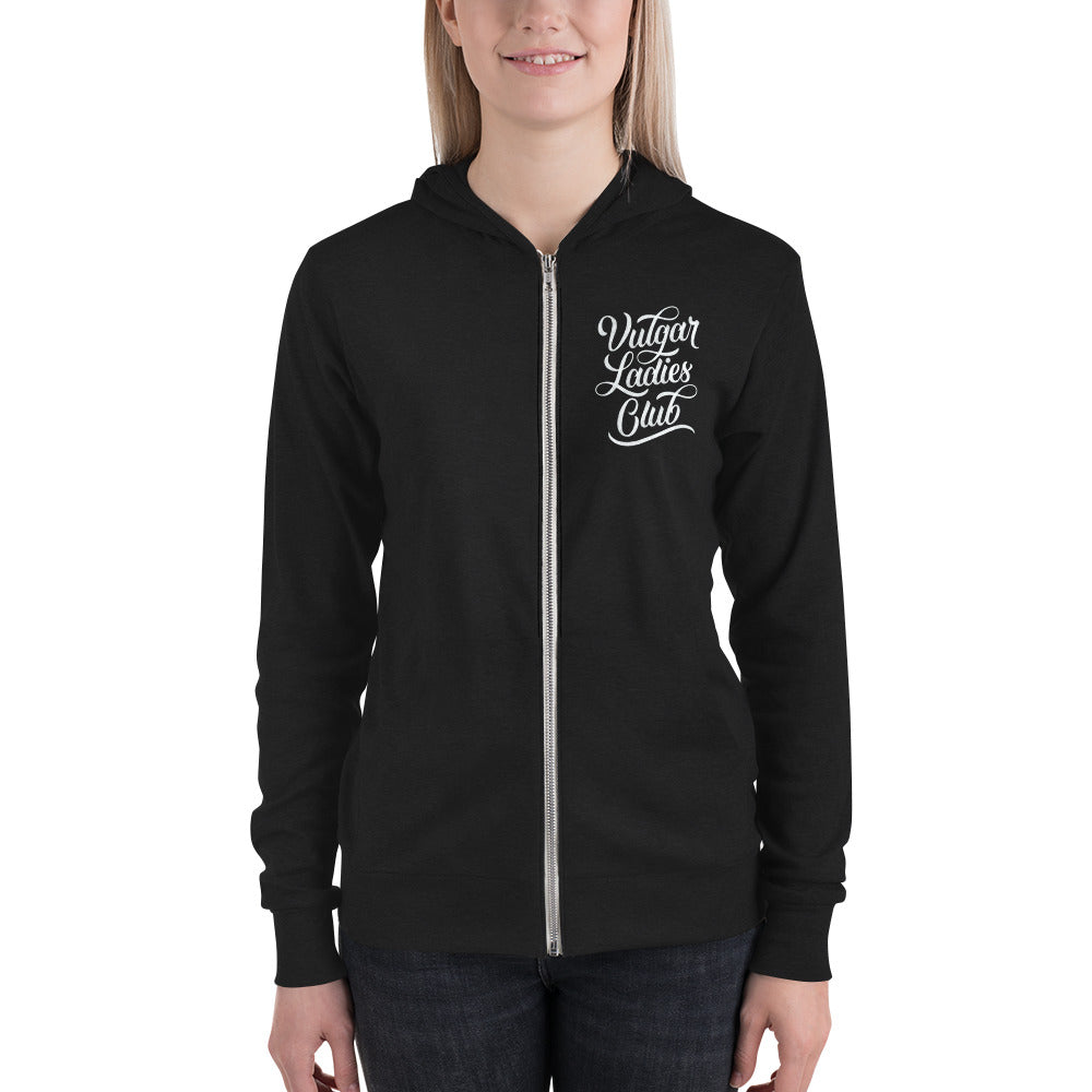 Vulgar Ladies Club - Lightweight Hoodie