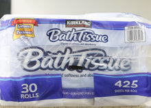 Premium Bath Tissue Kirkland Softness and Absorbency paper, 30 Rolls 2-PLY