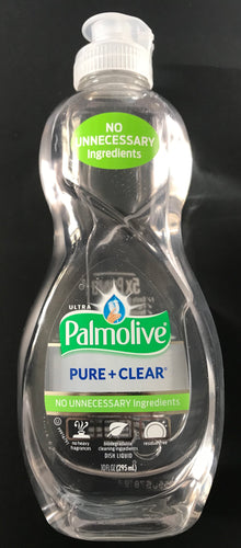 Ultra Palmolive Pure+Clear Dish Liquid Concentrate 10 FL OZ