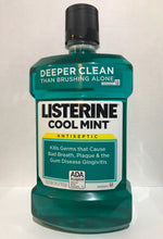 Oral Mouthwash Listerine Cool Mint Antiseptic 1.5L ADA Accepted