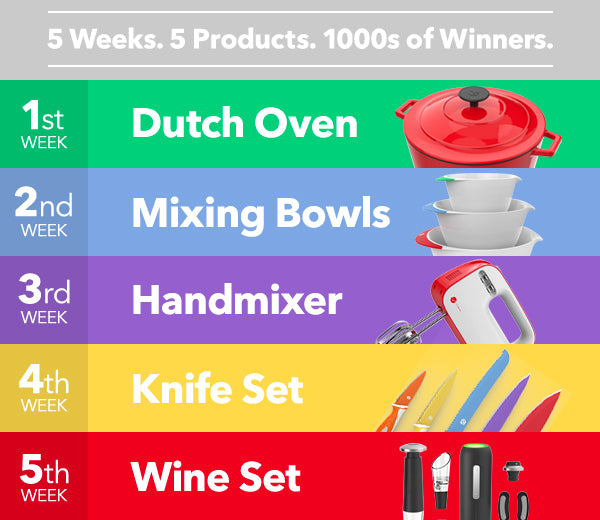 Vremi Winter Giveaway: Mixing Bowls